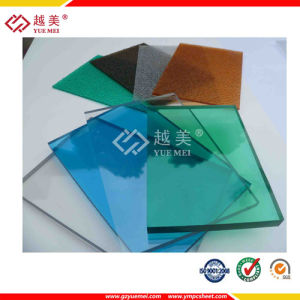 Colored Polycarbonate Transparent Solid Sheet for Decoration Building Material pictures & photos