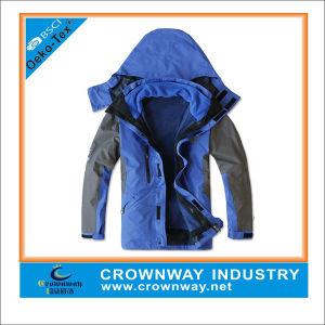Mens Winter Waterproof Polyester Windbreaker Jacket, Winter Jacket pictures & photos