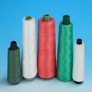 High Tenacity Polyester Sewing Thread for Leather Bag Jeans Uses pictures & photos