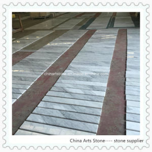 Chinese White Marble Tile for Floor Step pictures & photos