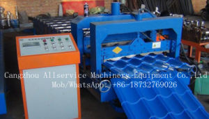 Color Coated/Glazed Roof Tile Roll Forming Machine