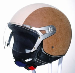 Leather Half Helmet (HF-225)