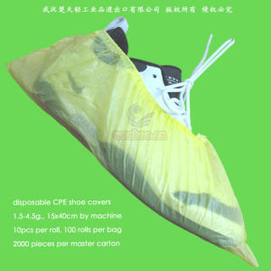 Disposable CPE Overshoes pictures & photos