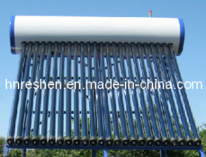 Galvanized Steel Copper Heat Pipe Pressurized Solar Heaters