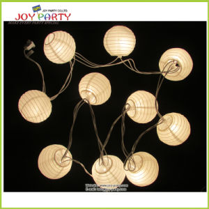 "3"" Paper Lantern String Light Wedding Decoration"