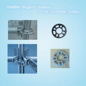 Galvanized Steel Ringlock Scaffolding System, Ringlock Scaffolding Rosette (WST192)