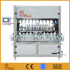 China Supply Automatic Cream Filler/ Sauce Filling Machine pictures & photos