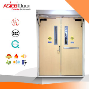 Steel Fire American Standard Safety Security Door with UL Label pictures & photos