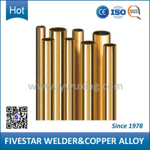 High Conductivity Copper Pipe for Auto Industry Welding