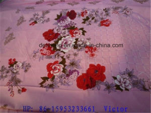 Cheap T/C 50/50 Jacquard Plain Dyed and Printed Bed Sheet pictures & photos