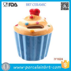 Creative Decoration Ceramic Cake Money Bank pictures & photos