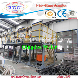 PE PP Protective Sheath Spiral Band Extrusion Machine Line 200mm pictures & photos