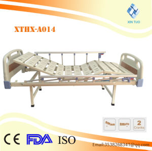 Factory Price Hospital Equipment Three Functions Hospital Patient Bed pictures & photos