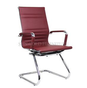 Hot Sale Modern High Back Leather Visitor Meeting Chair (SZ-OC202) pictures & photos