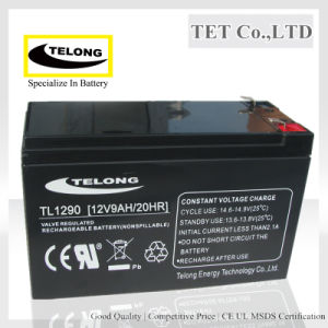 12V Rechargeable Battery-12V 9ah-Lead Acid Battery for UPS pictures & photos