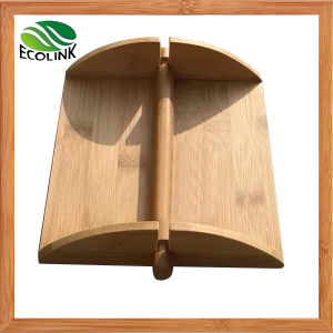 Natural Living Bamboo Napkin Holder Tissue Rack pictures & photos