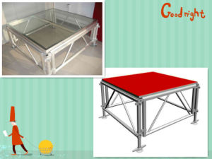 Indoor and Outdoor Aluminum Stage with Red Carpet Step Platforms pictures & photos