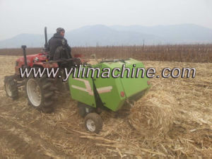 High Quality Mini Round Hay Baler for Sale pictures & photos