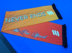 Custom Double Side Sahes Scarves, Digita; Printing Sashes pictures & photos