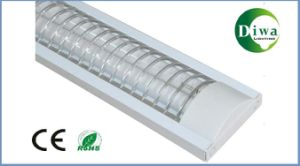 T8 Fluorescent Light Fixture with Grille, Grid, CE. RoHS, IEC, SABS Approval, Dw-T8cg-Xh pictures & photos