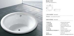 Creative New Design Insert Jacuzzi Bathtub pictures & photos