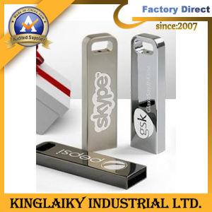 New Design Metal Logo USB for Promotional Gift (KUSB-004) pictures & photos