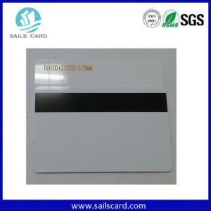 Sle4428 Contact IC Card with Hi-Co Magnetic Stripe pictures & photos