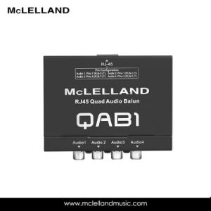 RJ45 Quad Audio Balun (QAB1) pictures & photos