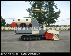 Small Tank Double Thresher Cylinder Vertical Axis Flow Rice Harvester pictures & photos