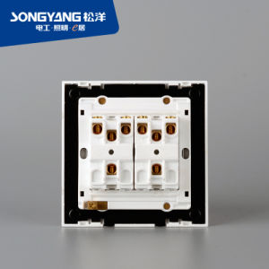 PC White Series 4gang Wall Switch pictures & photos