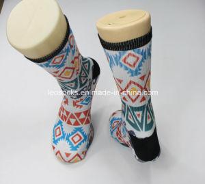 3D Printed Cotton Sublimation Socks pictures & photos