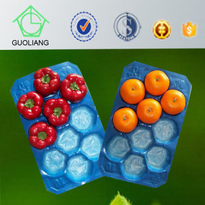 Vacuum Formed Blister Packaging PP Disposable Plastic Tray Liner for Stone Fruit pictures & photos