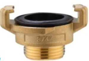 Flow Aperture Threaded Brass Male Couping Copper Tb-18 pictures & photos