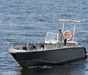 25FT 7.6m Open Top Aluminium Power Boat Qm7600 pictures & photos