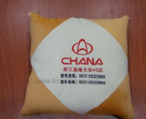Car Logo Embroidery Promotional Gift Plush Cushion pictures & photos