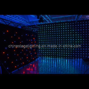 P18 SD/PC Control Fireproof LED Vision Curtain (4m*6m) (GM026)