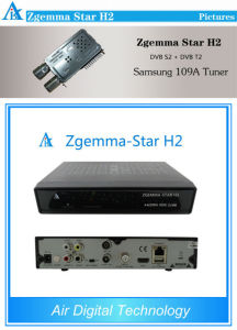 Digital Satellite Receiver Zgemma Star H2 Combo DVB S2 DVB T2 Set Top Box pictures & photos