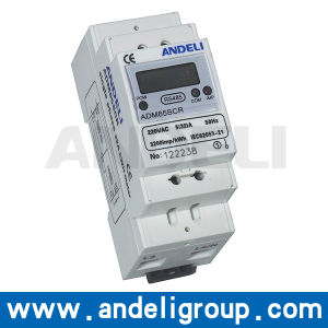 Single Phase Energy Meter (ADM65SCR) pictures & photos