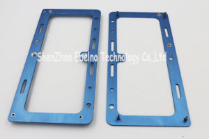 Customized Drawing CNC Machining Processing Aluminum Colorful Anodizing pictures & photos