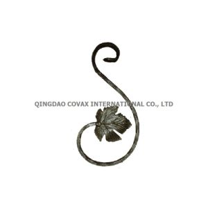 Decorative Wrought Iron Scroll 17010 Scroll Rosette pictures & photos