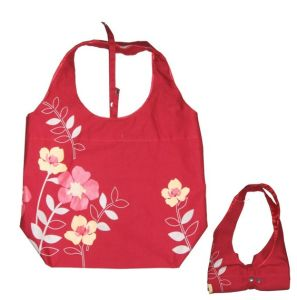 2014 Canvas Foldable Shopping Bag pictures & photos