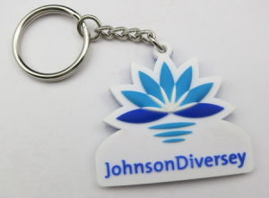 Promotional Keychain with Client Logo pictures & photos