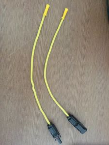 Femal and Male Mc4 Connectors with Solar Cable Wire Processing pictures & photos