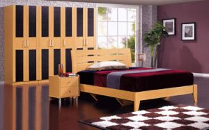 Classicial Bedroom Furniture MDF Wardrobe Closet pictures & photos