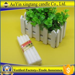 Aoyin Brand 1.6*22 Cheap Price Wax White Candle by China Candle Factory pictures & photos