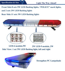 LED Emergency Police Car Light Bar pictures & photos