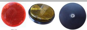 Reflex Reflector for Motorcycle Km-101 with E9 DOT SAE Certification pictures & photos