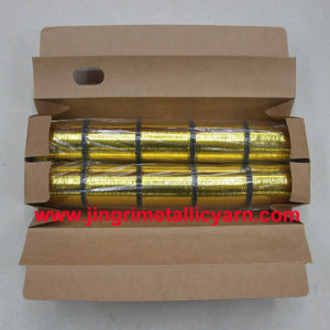 Bangladesh M-Type Metallic Yarn Golden M-08 pictures & photos