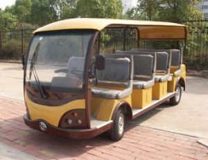 New Design 11 Seats Electric Sightseeing Bus with CE Certificate for Sale pictures & photos