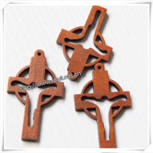 New Design Wholesale Cheap Wooden Cross / Crucifix (IO-cw017) pictures & photos